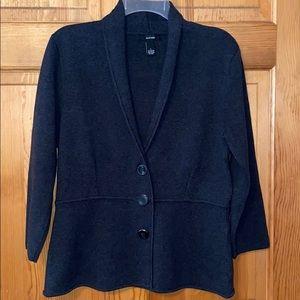 Women's Alfani Charcoal Gray cardigan , size L